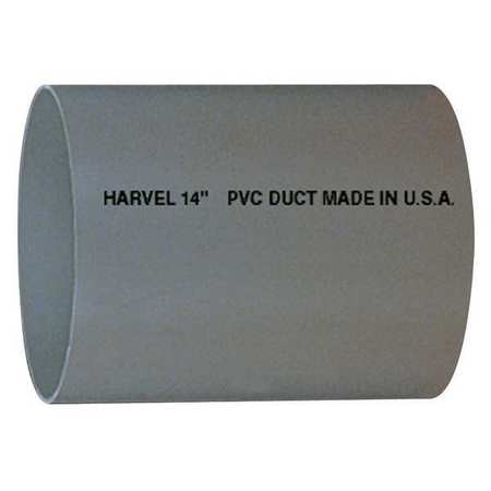 "6"" x 10 ft. PVC Round Duct Pipe"