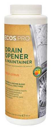 Drain Maintainer, Size 2 lb., Floral