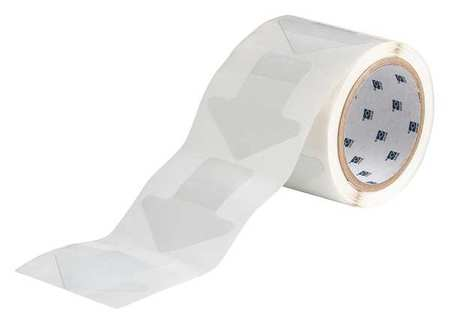 Marking Tape, Arrow, 3In W, 3In L, PK100