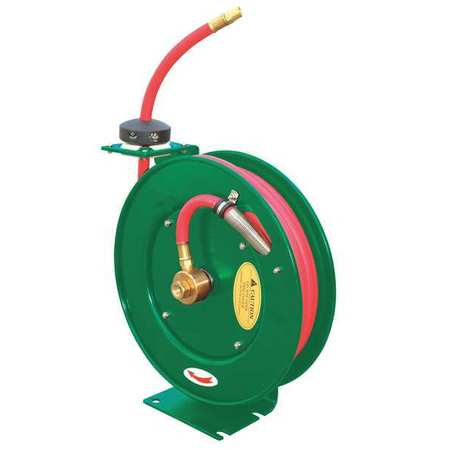 "Hose Reel, 1/4"", 35 ft, Spring"