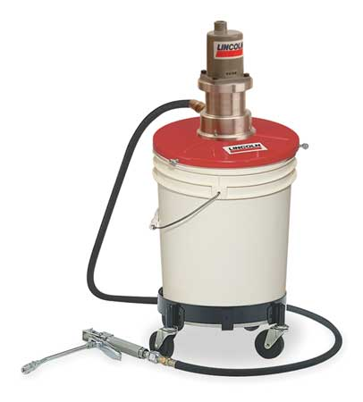 Grease Pump, 25 to 50 lb. Containers, 40:1