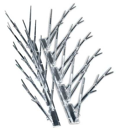 Bird Repellent Spikes, 25 ft. L, PK25