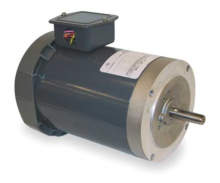 Mtr, 3 Ph, 1/3hp, 3450, 208-230/460, Eff 61.0