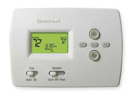 Thermostat,  5-2 Day Programmable,  Stages 1 Heat/1 Cool