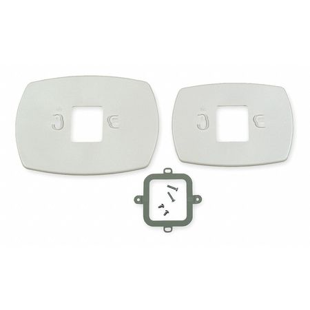 Cover Plate,  Universal,  White,  Plastic