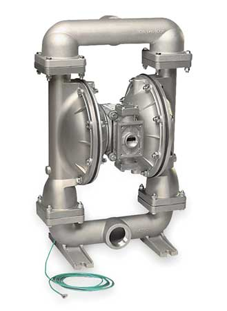 "2"" Stainless Steel Gas Double Diaphragm Pump 150 GPM 220F"