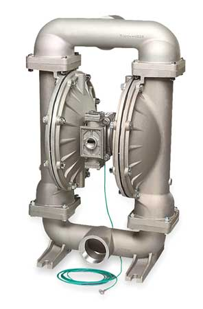 "3"" Stainless Steel Gas Double Diaphragm Pump 235 GPM 220F"