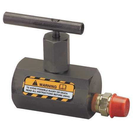Manually Operated Check Valve