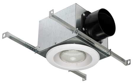 Fluorescent Vent Light, Plastic and Metal