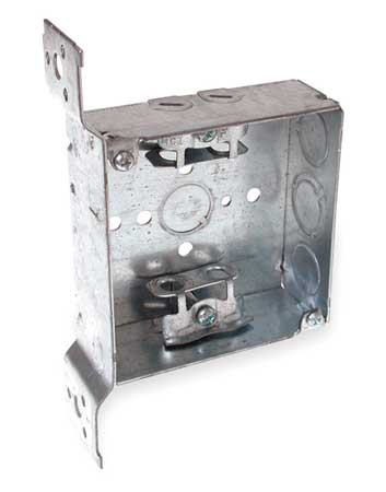 Electrical Box, Square, 4 X 1-1/2 in.