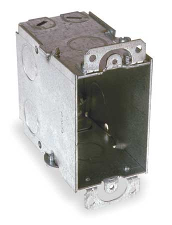 Electrical Box, Switch, 3x2x3-1/2 in.