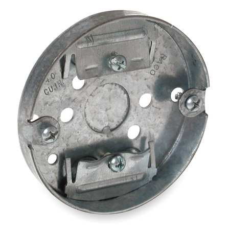Electrical Box, Round Ceiling Pan