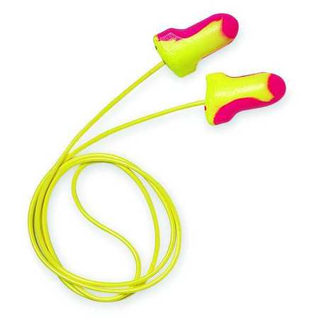 Ear Plugs, 32dB, Corded, Univ, PK100