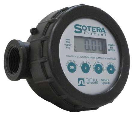 Meter,  Digital, 1 In,  2-20 gpm