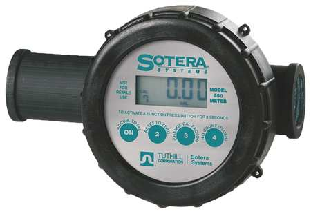 Meter, Digital, 1 In, Air Sensor, 2-20 gpm