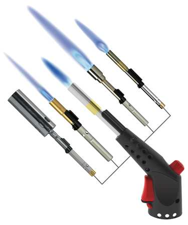 Hand Torch Kit, Torch And 5 Torch Tips