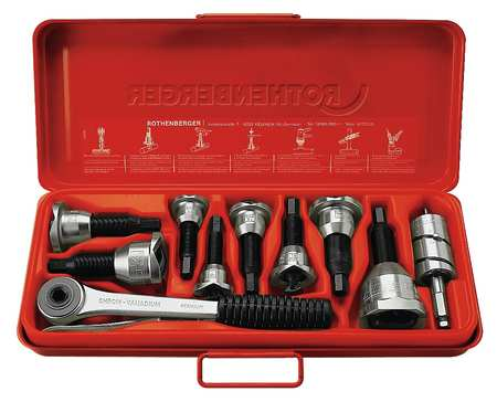 Tee Extractor Set, 1/2 to 1-1/8 In, 8 Pc