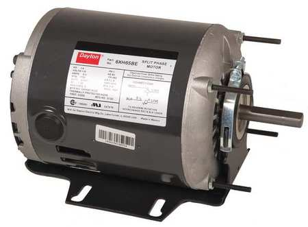 GP Mtr, Split Ph, ODP, 1/6 HP, 1725 rpm, 48Z