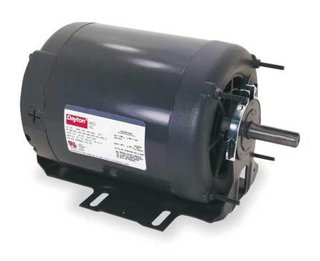 GP Mtr, Split Ph, ODP, 1/2 HP, 1725 rpm, 56