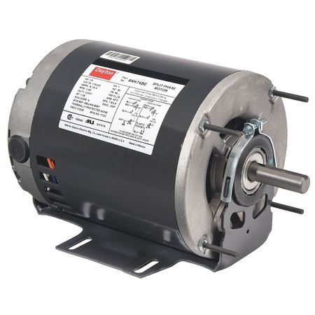 GP Mtr, Split Ph, ODP, 1/4 HP, 850 rpm, 56