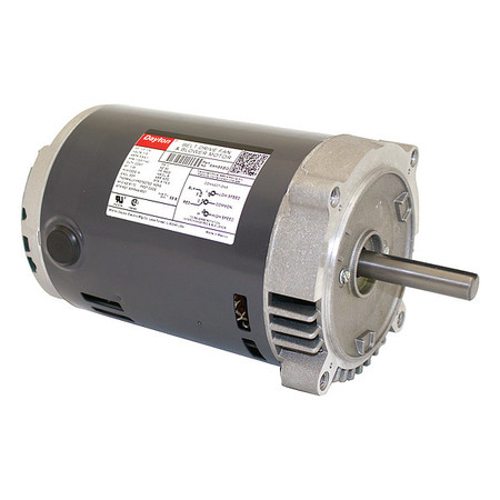 Belt Drive Mtr, SplitPh, ODP, 1/3HP, 1725rpm