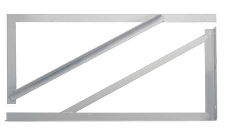 A/C Mounting Bracket,  42 In, PK2