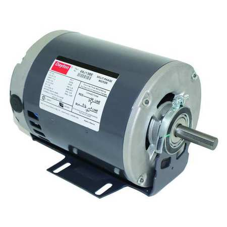 GP Mtr, Split Ph, ODP, 3/4 HP, 1725 rpm, 56