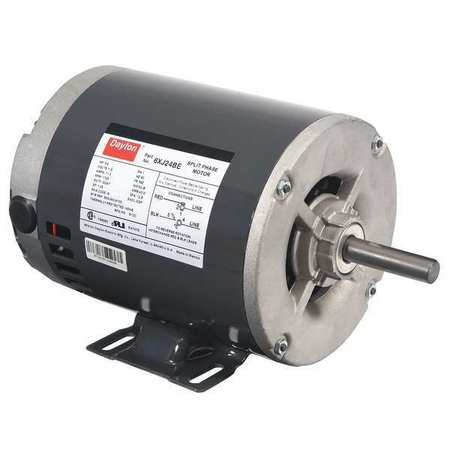 GP Mtr, Split Ph, ODP, 3/4 HP, 1725 rpm, 56Z
