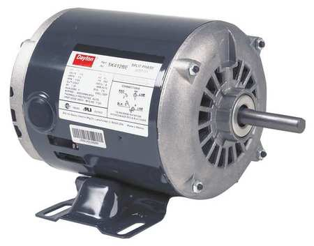 GP Mtr, Splt Ph, 1/4HP, 1725/1425rpm, 48