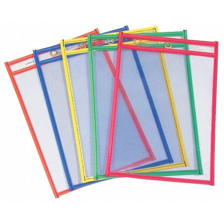 Shop Ticket Holder, 6x9, Astd Color, PK10