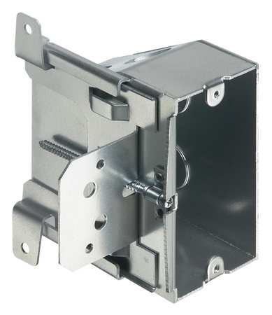 Electrical Box, Outlet, Adjustable, 1 Gang