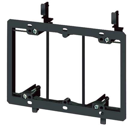 Mounting Bracket, Low Voltage, 3-Gang