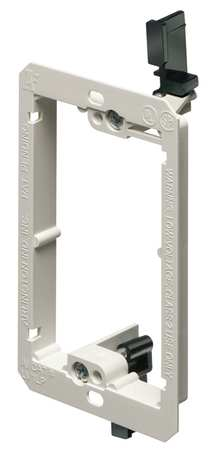 Mounting Bracket, Low Profile,  LV, 1-Gang