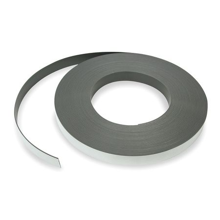 Magnetic Strip, 100 ft. L, 1 In W