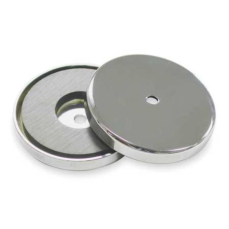 Round Base Magnet, 95 lb. Pull