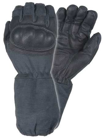 Military Glove, L, Black, PR