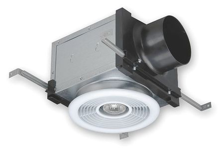 Vent Light Combination, 4 In. Dia., 120V