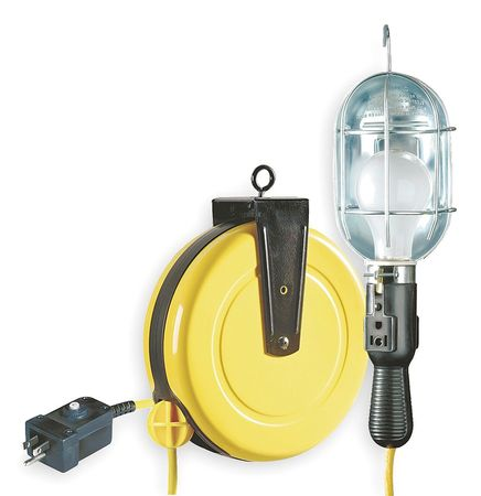 LUMAPRO Incandescent Cord Reel Light