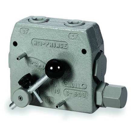 Flow Control Valve, 1/2 In, 0 to 16 GPM