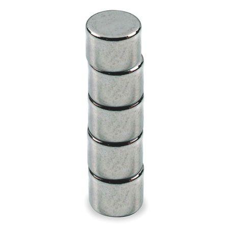 Disc Magnet, Neodymium, 2 lb. Pull, PK5