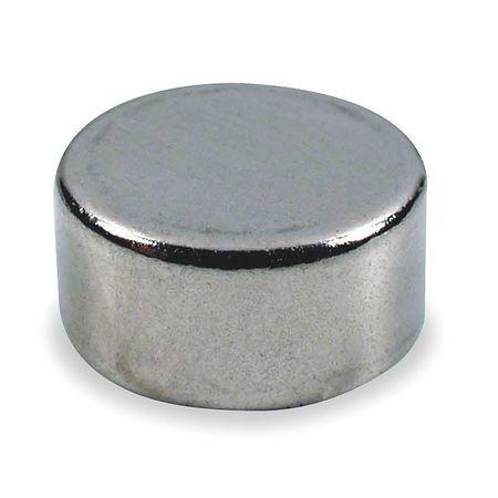 Disc Magnet, Neodymium, 3 lb. Pull