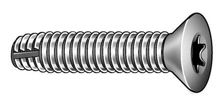 Screw, Thd Cut, 5/16-18x2 1/2L, PK50