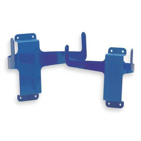 GOJO Metal Bracket, Blue, Holds Towels Bucket