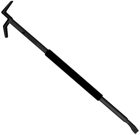 Entry Tool, 10ft Handle, High Carbon Steel