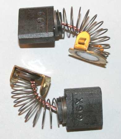 Dayton Motor Brush Set 1 4 In L 5 8 In W Pk2 6yhy6