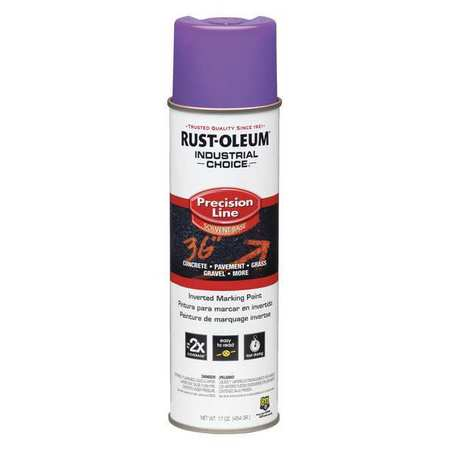Precsn Line Marking Paint,  Purple, 17 oz.