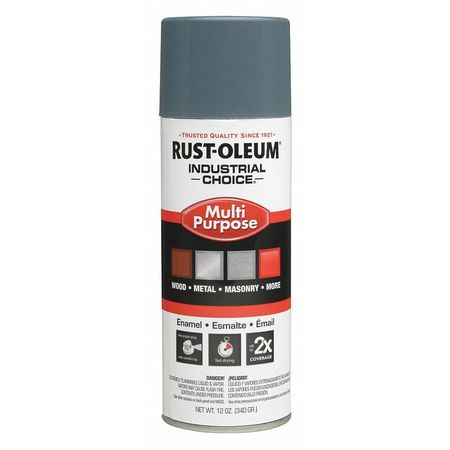 Spray Paint, Machinery Gray, 12 oz.