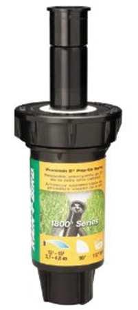 Spray Head for Shrubs, PVC, Quarter Circle