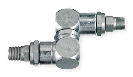 High Pressure Swivel, 1/2-27 x1/4 In