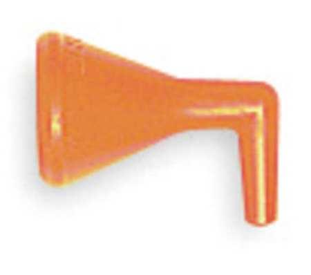 Flex Hose Nozzle, 1/4 In,  90 Deg, PK4